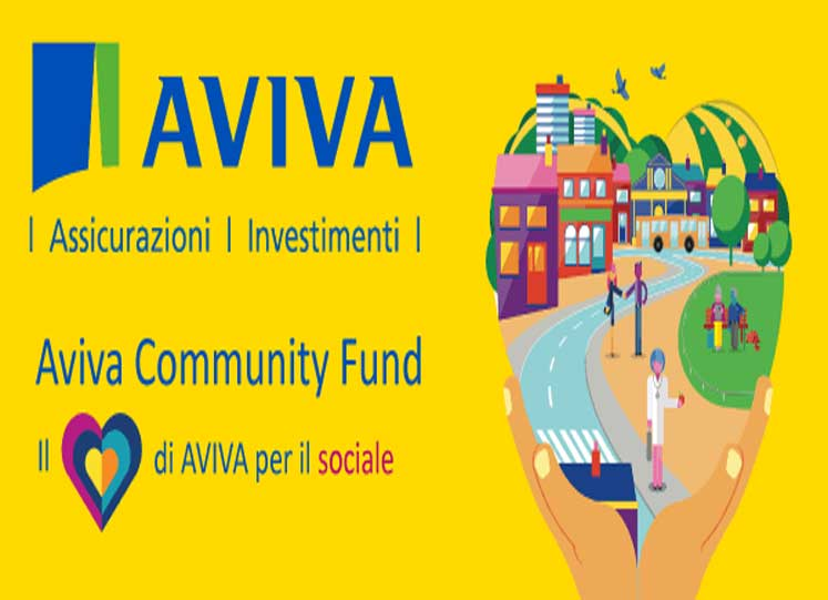 Aviva Community Fund: al via la 3°edizione di Aviva Community Fund